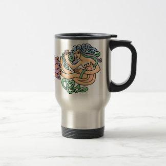 Celtic Symbols Travel Mug