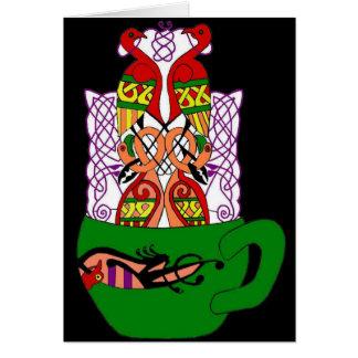 Celtic Tea Card