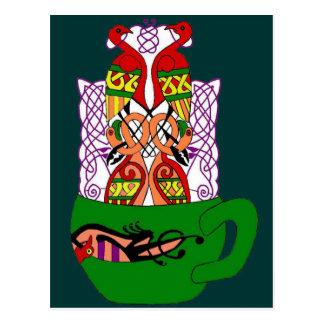 Celtic Tea Postcard