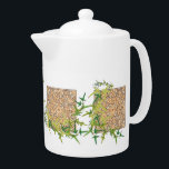 """Celtic Themed TeaPot<br><div class=""""desc"""">Nature and Celtic inspired Tea Pot.  Great for any kitchen.</div>"""