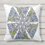Celtic Traditional Knotwork Throw Pillow