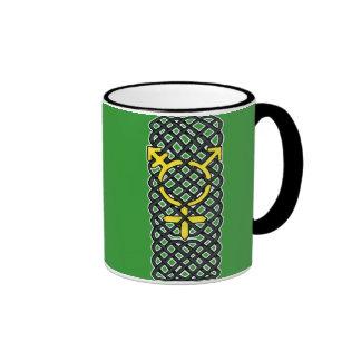 Celtic Transgender Symbol Yellow Mugs