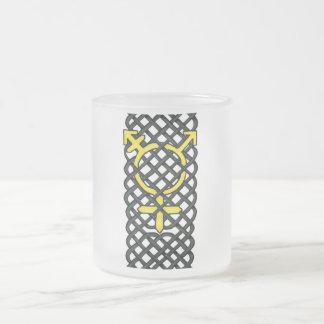 Celtic Transgender Symbol Yellow Coffee Mug