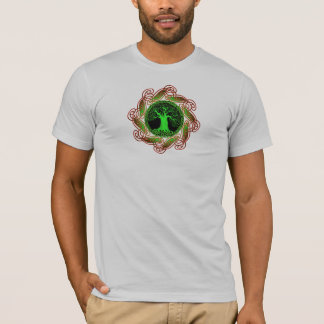 Celtic Tree Illuminated (small image version) T-Shirt
