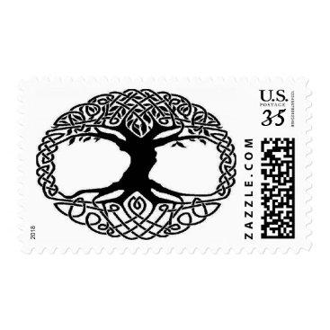 postnmorestore Celtic Tree of Life 34 cent stamp