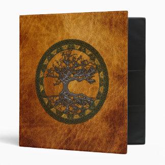 Celtic Tree of Life 3 Ring Binder