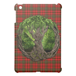 Celtic Tree Of Life And Clan MacDougall Tartan Case For The iPad Mini