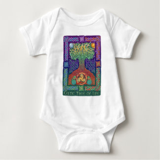 Celtic Tree of Life Baby Bodysuit