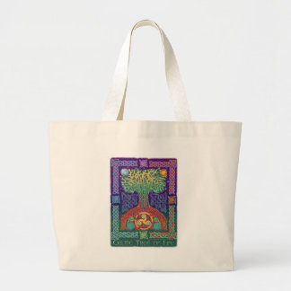 Celtic Tree of LIfe Canvas Bags