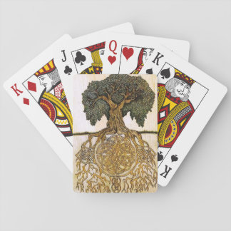 Celtic Tree of Life card deck