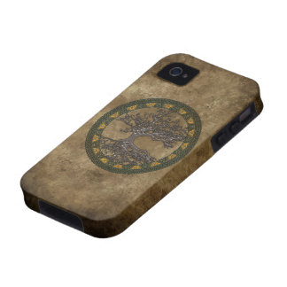 Celtic Tree of Life iPhone 4 Case
