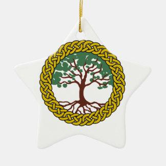 Celtic Tree Of Life Ceramic Ornament