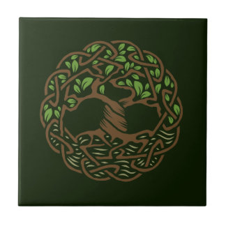 Celtic Tree of Life Ceramic Tile
