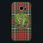 "Celtic Tree Of Life Clan Gillespie Samsung Galaxy S6 Case<br><div class=""desc"">One of the Scottish tartans for the Gillespie Clan with the Celtic Tree Of Life symbol. The Celtic Tree of Life is based from the ancient Celtic philosophy of the creation of the universe and the link between the upper and lower worlds, the earth and heavens. If you would like...</div>"