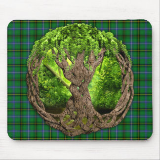 Celtic Tree Of Life Clan Henderson Mouse Pad