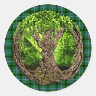 Celtic Tree Of Life Clan Henderson Sticker