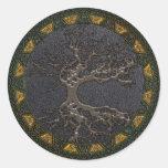 Celtic Tree of Life Classic Round Sticker