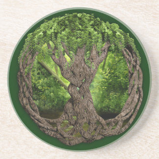 Celtic Tree Of Life Coaster
