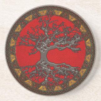 Celtic Tree of Life Coasters