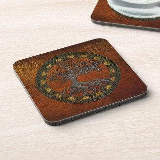 Celtic Tree of Life Drink Coasters