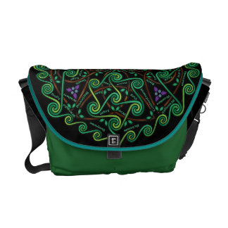 Celtic Tree of Life Courier Bag