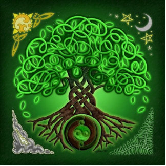 celtic tree of life cut outs