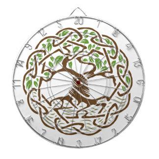 Celtic Tree of Life Dartboards