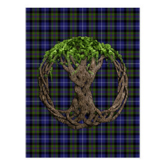 Celtic Tree Of Life Highland Pride Of Scotland Postcard
