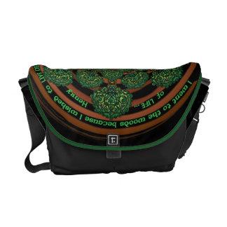 Celtic Tree of Life Mandala Courier Bag