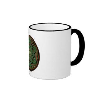 Celtic Tree of Life Mandala Ringer Coffee Mug