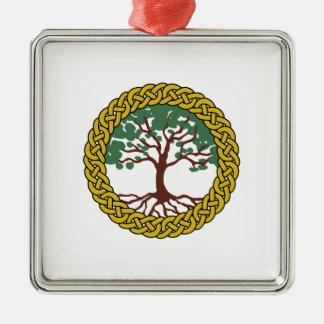 Celtic Tree Of Life Metal Ornament