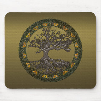 Celtic Tree of Life Mouse Pad