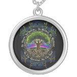 Celtic Tree of life Neckless Silver Plated Necklace