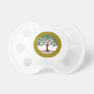 Celtic Tree Of Life Pacifier