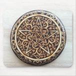 Celtic Tree of Life Pentacle Mousepad