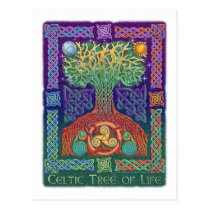 Celtic Tree of LIfe Postcard