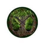 Celtic Tree Of Life Round Clock