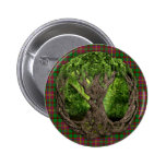 Celtic Tree Of Life Tartan Of The Celts Button