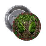 Celtic Tree Of Life Tartan Of The Celts Pinback Button