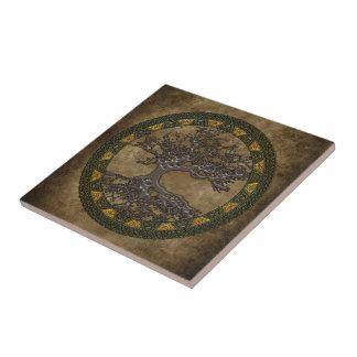 Celtic Tree of Life Tile