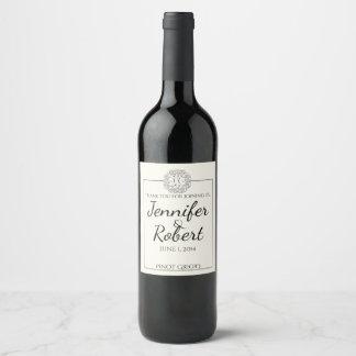 Celtic Tree of Life Wine Label
