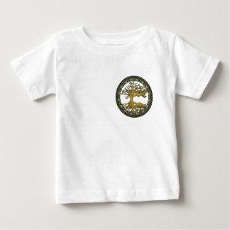 Celtic Tree of Life [Yggdrasil][Ancient] Baby T-Shirt