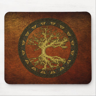 Celtic Tree of Life [Yggdrasil][Ancient] Mouse Pad