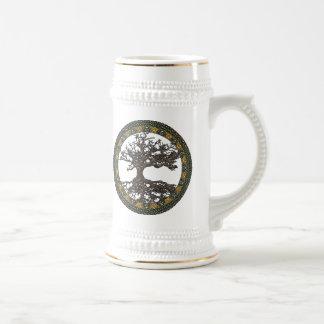 Celtic Tree of Life [Yggdrasil] Beer Stein