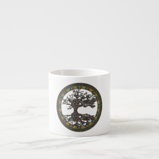 Celtic Tree of Life [Yggdrasil] Espresso Cup