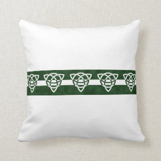 Celtic Tri-point Knot Pattern Pillows