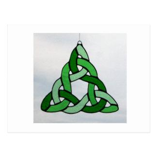 Celtic Triangle Postcard