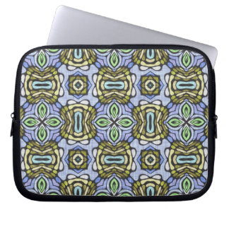 Celtic Tribal Damask Geometric Abstract Artistic Computer Sleeve