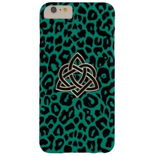 Celtic Trinity Heart Irish Leopard iPhone 6 Case