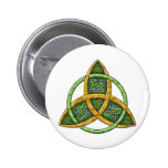 Celtic Trinity Knot 2 Inch Round Button